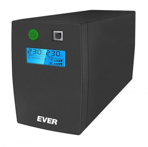 Источники бесперебойного питания (ИБП) EVER UPS EASYLINE 850AVR (T/EASYTO-000K85/00)