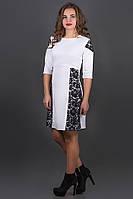 Платье женское с гипюром в 6ти цветах OLS Оника