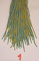 Шнурки круглые 100см с плетением кобра