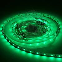 Светодиодная лента SMD3528 - зеленая, 60 светодиодов/м, 12 В DC, 1 м, IP20