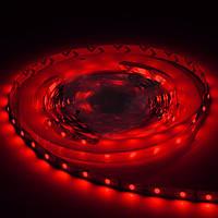 Светодиодная лента SMD3528 - красная, 60 светодиодов/м, 12 В DC, 1 м, IP20
