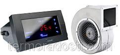 Комплект автоматики KG Elektronik СS-19 + DP-120 для котла (с вентилятором)