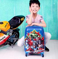 Детский чемодан на колесиках Avengers Assemble(Мстители)