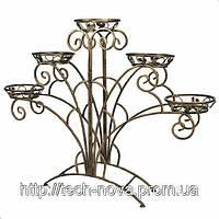 Подставка для цветов павлин — ПАВ 5