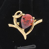 Прелестное кольцо с фианитом Xuping 10-1101-красный-19