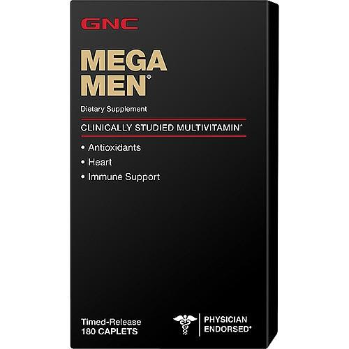 GNC MEGA MEN 180 сaplets