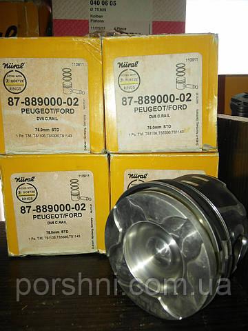 Поршневая  75    STD  Focus  C-MAX 1.6 TDCI  2003 -- NURAL 87-889000-02