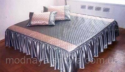 """Дизайнерське покривало на ліжко """"Бюджет"""""""