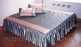 """Дизайнерское покрывало на кровать """"Бюджет"""""""