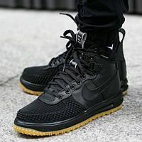 Кроссовки Nike Lunar Force 1 Duckboots черные