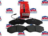 Передние колодки Peugeot Boxer/Fiat Ducato/Citroen Jumper (1994-2002)
