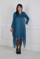 Нарядное платье больших размеров 173