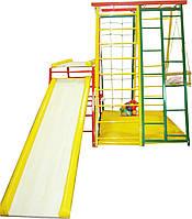Детский спортивный комплекс Спартанец (с тумбой для горки)