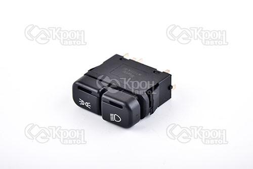 Блок кнопок управления ближним светом фар и габаритными огнями ВАЗ 21099, 2113, 2114, 2115 WTE