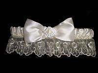 Свадебная подвязка 12