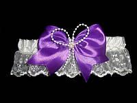 Свадебная подвязка 13