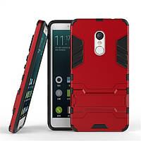 Чехол Xiaomi Redmi Note 4 Азиатская версия на MTK Hybrid Armored Case красный