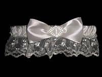 Свадебная подвязка 14