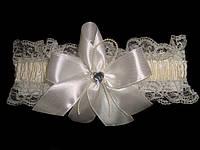 Свадебная подвязка 15