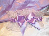 Свадебная подвязка 16