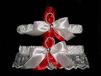 Свадебная подвязка 18