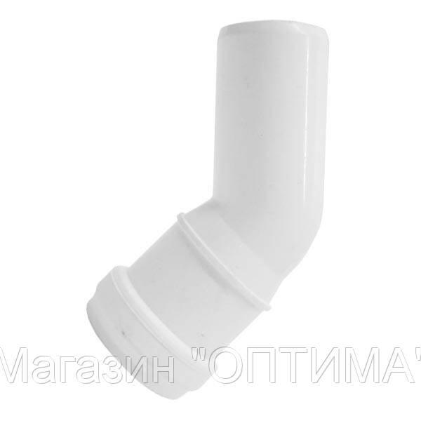 Коліно каналізаційне ПП, d-32 мм , 45*