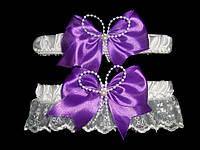 Свадебная подвязка 28