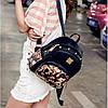 Женский маленький рюкзак с шипами, фото 6
