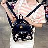 Женский маленький рюкзак с шипами, фото 3