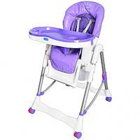 Детский стульчик для кормления RT-002-9, фиолетовый