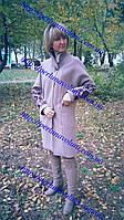 Женское пальто с вышивкой ПА 86-1/05