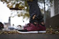 Кроссовки Nike Lunar Force 1 Duckboots черно-красные