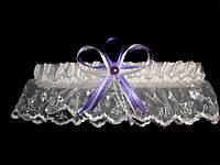 Свадебная подвязка 33