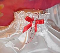 Свадебная подвязка 36
