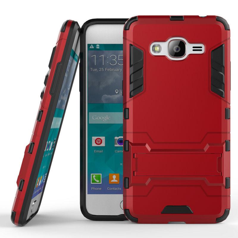 Чехол Samsung J2 Prime / G532F Hybrid Armored Case красный