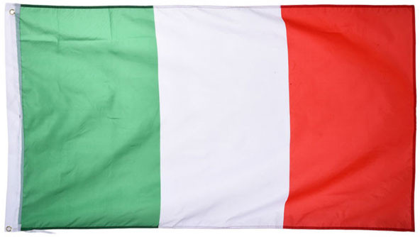Национальный флаг Италии 90х150см