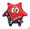 Игрушка-антистресс Звезда красная I love you 48 SOFT TOYS
