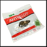Антищур, родентицидная приманка, бродифакум+бромадиолон, тесто, 200 г