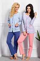 Пижама для кормящей мамы на пуговицах.Польша