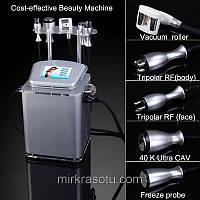 Аппарат Slim-4  аппарат + Кавитация, + Триполяр РФ лифтинг + Криотерапия, фото 1