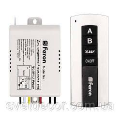 Дистанционный выключатель Feron TM75 (на 2 линии-канала) пульт ДУ