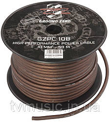 Силовой кабель Ground Zero GZPC 10B