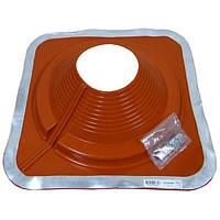 Разрезной Кровельный проход Dektite Combo (Master Flash) для металлических и битумных крыш Любой Размер 150-280мм, Красный силикон