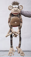 Интерьерная мягкая игрушка обезьяна Mago / Маго