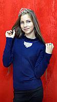 Детский свитер теплый для девочки 7-15 лет, фото 1