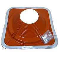 Разрезной Кровельный проход Dektite Combo (Master Flash) для металлических и битумных крыш Любой Размер 175-330мм, Красный силикон
