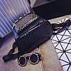 Маленький женский рюкзак с заклепками, фото 5