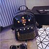 Маленький женский рюкзак с заклепками, фото 2