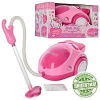 Игровой пылесос HK 00038 R, Hello Kitty, 28*21*16 см, звук, на батарейках, подарок маминым помощницам
