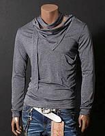 Стильная дизайнерская футболка - лонслив Gray. Производства Украина